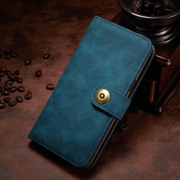 iPhone Unique Detachable Leather Flip Case