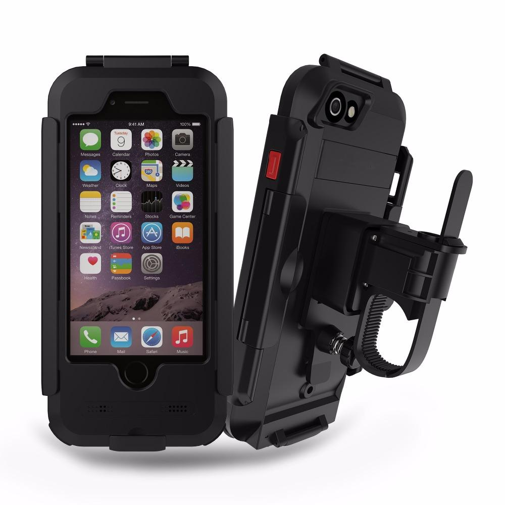 Waterproof & Shockproof Bike Holder iPhone Case