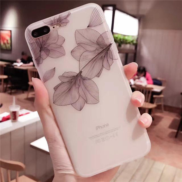 Cherry petals 3D Case for iPhone