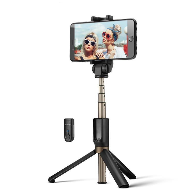 Mini Tripod 3 in 1 Wireless Bluetooth Selfie Stick