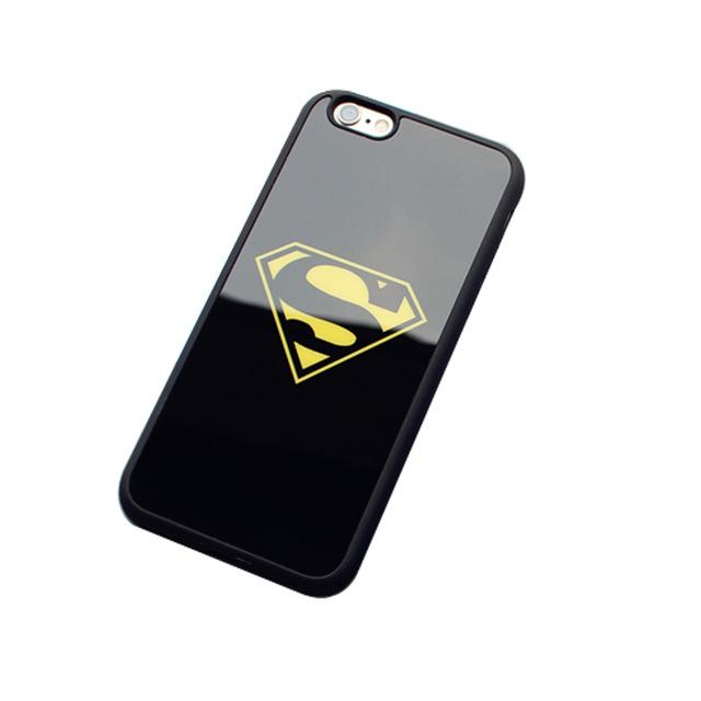 Mirror Ultra Slim Superman Batman Case For iPhone