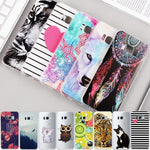 Samsung Painted Cartoon Animal Phone Case - Happy Wallet