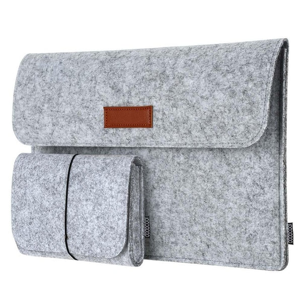 Felt Anti- Scratch Laptop Sleeve For Macbook
