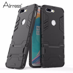 Soft Hybrid Defender Kickstand Cover for Oneplus 5T