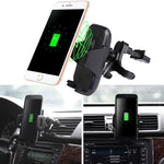 Car Mount Wireless Fast Charger - Happy Wallet