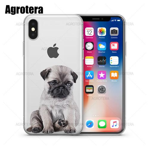 iPhone Puppy Clear Cases