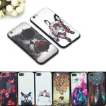 iPhone Cartoon Pet Pattern Case - Happy Wallet