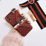 Luxury Wallet Phone Cases for iPhone