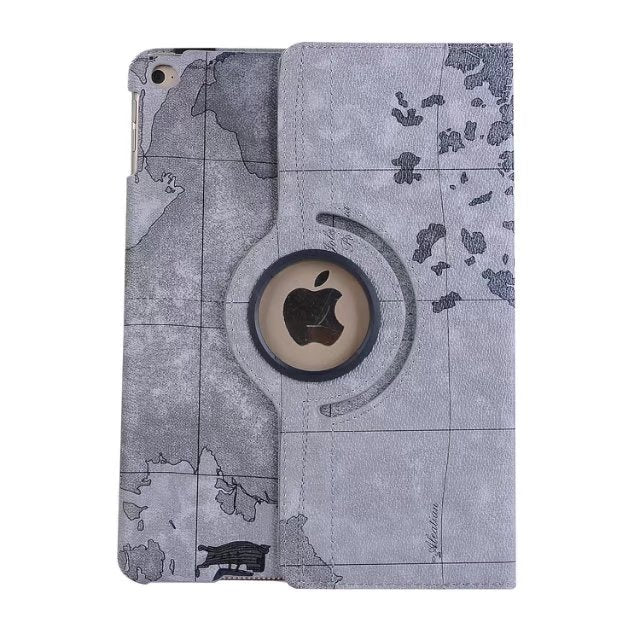 iPad Smart Stand world map case