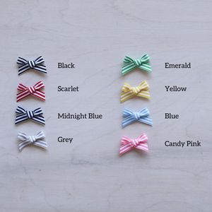 Candy Stripe Bows