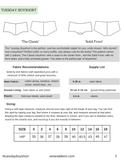 Tuesday Boyshort PDF Sewing Pattern
