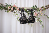 Bees On Black Bra Kit | Black Beauty Bra