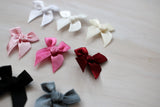bows, bra bows, white, warm white, ivory, soft pink, hot pink, crimson, grey, black