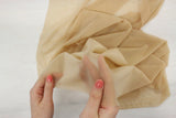 super fine stretch mesh in beige bra making fabric