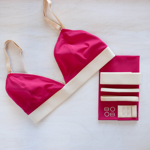 Wicking Raspberry Jordy Bralette Kit
