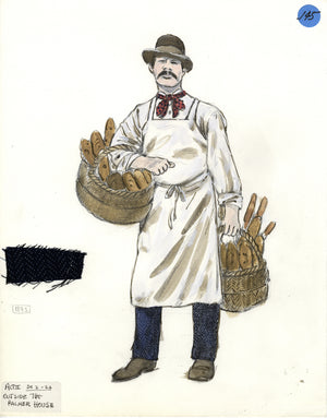 SHOW BOAT - 'Bread Man' Tony Award winning costume design by Florence Klotz