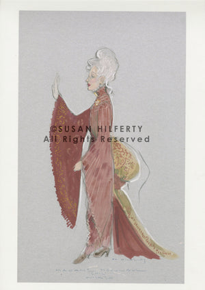 "Wicked ""Morrible"" Costume (Side) Design By Susan Hilferty"