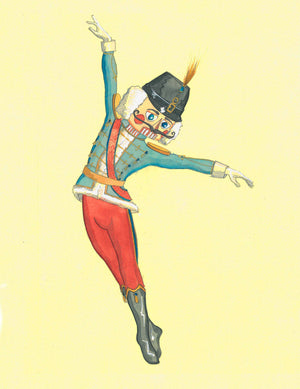 """The Nutcracker"" Costume Rendering By Court Watson"