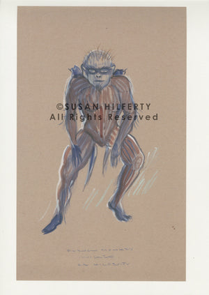 "Wicked ""Chistery"" Flying Monkey Costume Design By Susan Hilferty"