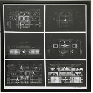 """Next To Normal"" - Framed Storyboard Sketch By Mark Wendland"