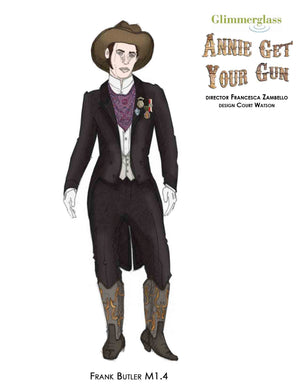 """Annie Get Your Gun"" Frank Butler Ball Costume By Court Watson"
