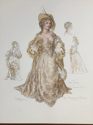 "Lady Fidget Costume For ""The Country Wife"" By Robert Perdziola"