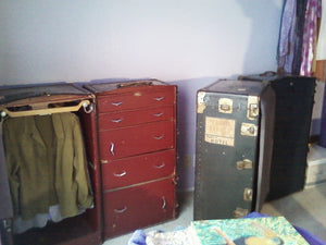 Vintage 1960'S Theatrical Trunks Owned By Actor Scott Mckay