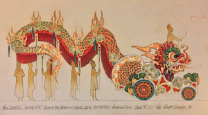 Chinese Float, Ringling Bros. Circus Design  By Eduardo Sicangco