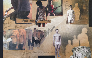 """American Idiot"" Are We The Waiting?  Collage By Andrea Lauer"