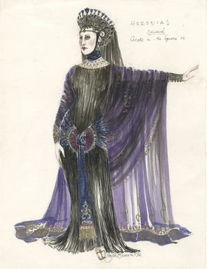 "Suzanne Bertish As Herodius In ""Salome"" By Zack Brown"