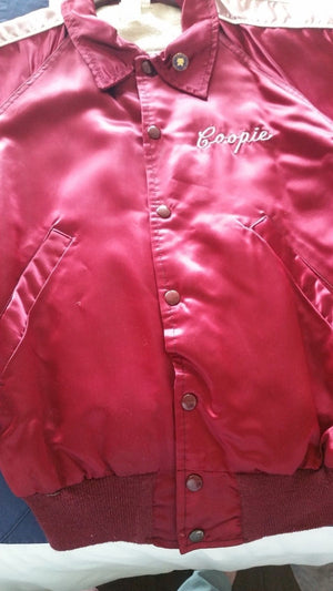 """Woman Of The Year""  Marilyn Cooper'S 1981 Satin Show Jacket"