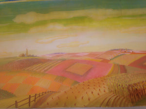 "John Lee Beatty ""Oklahoma"" ""Laurey'S Sky"", Orig. Paint Elevation"