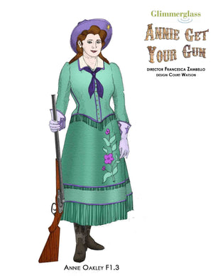 """Annie Get Your Gun"" Annie"" Wild West Costume By Court Watson"
