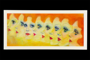 Charles Busch Original Pastel Sketch -Ltd. Edition Gicle Print