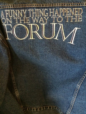 """A Funny Thing Happened ... Forum"" Denim Show Jacket"