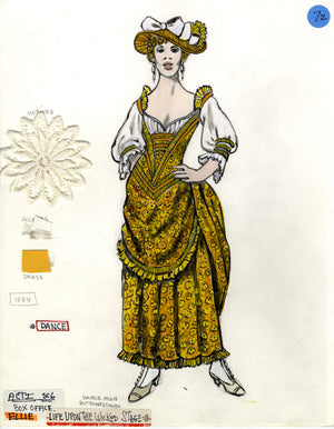 "SHOW BOAT - Ellie ""Life Upon the Wicked Stage"" Tony Award winning costume design by Florence Klotz"