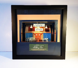 """Spelling Bee"" - Shadow Box Model, Designed By Anna Louizos"