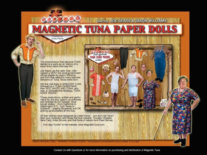 Greater Tuna - Magnetic Paper Dolls