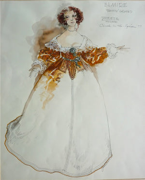 "Tammy Grimes As Elmire In ""Tartuffe""  Costume By Zack Brown"