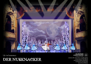 "The Nutcracker ""Tannenwald"" Scenic Rendering By Court Watson"