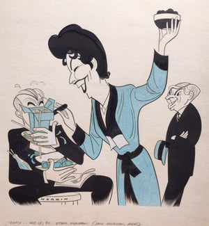 """Gypsy"" Ethel Merman Caricature By Sam Norkin"