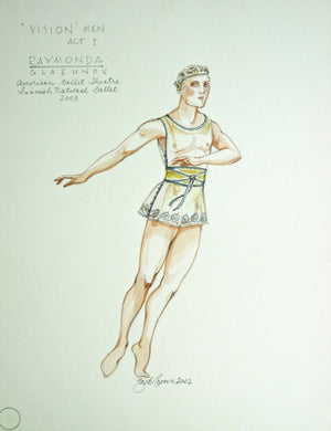 "Raymonda - Costume Design For ""Vision"" Men By Zack Brown"