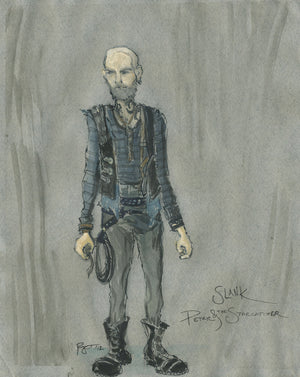 """Peter And The Starcatcher"" Slank Costume Sketch By Paloma Young"