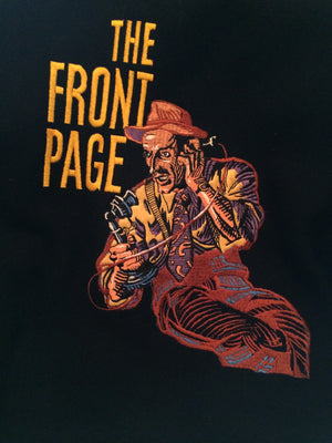 """The Front Page"" Show Jacket, Lincoln Center Production, 1986"