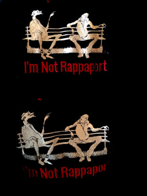 """I'M Not Rappaport"" Show Jacket, Logo Designed By Tony Walton"