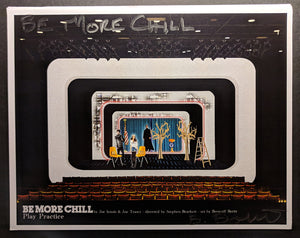 "BE MORE CHILL - Set Rendering ""Play Practice"" by Beowulf Boritt"
