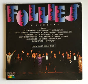 FOLLIES IN CONCERT 1985 Double Record Vinyl Album