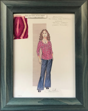 """Beautiful"" Framed Natural Woman Costume By Alejo Vietti"