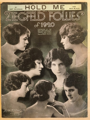 """Hold Me"" from Ziegfeld Follies of 1920 Sheet Music"