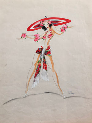 Freddy Wittop Costume Design for the Latin Quarter Night Club